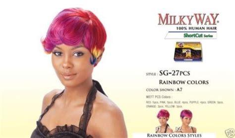 Sg 27pcs By Milkyway Short Cut Series 100% Human Hair