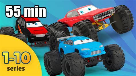 monster truck videos for kids online monster truck for children cartoon compilation monster