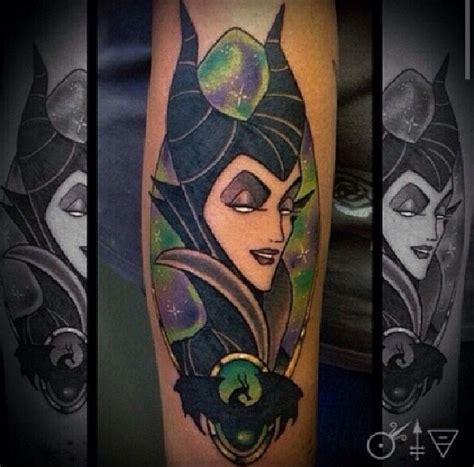 maleficent tattoo villains  disney tattoos