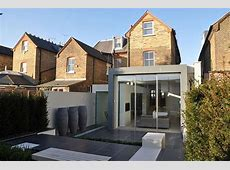 Extension to an Edwardian semidetached house with a