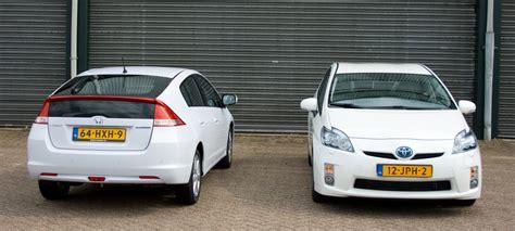 Rijtest & Video: Honda Insight Versus Toyota Prius
