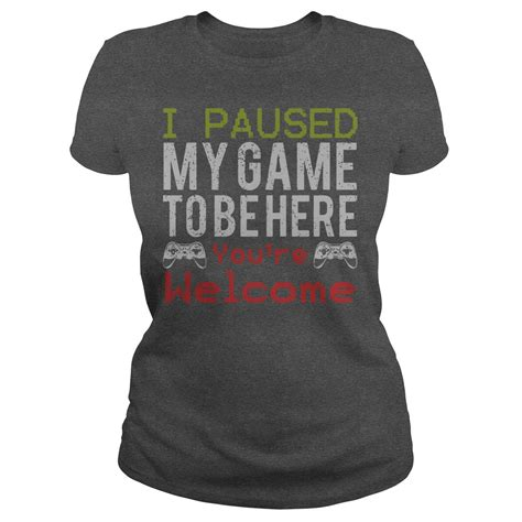 paused  game    youre  shirt hoodie