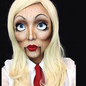 Halloween Make Up Puppe : 13 maquillajes de mu eca diabolica para halloween ~ Frokenaadalensverden.com Haus und Dekorationen