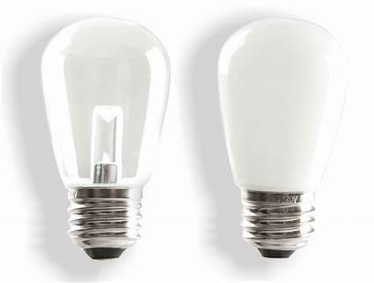 Marquee Led Lamps Clear Bulbs Frosted