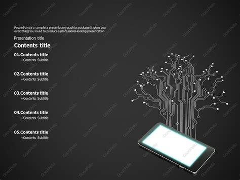 electronic circuit powerpoint template goodpello