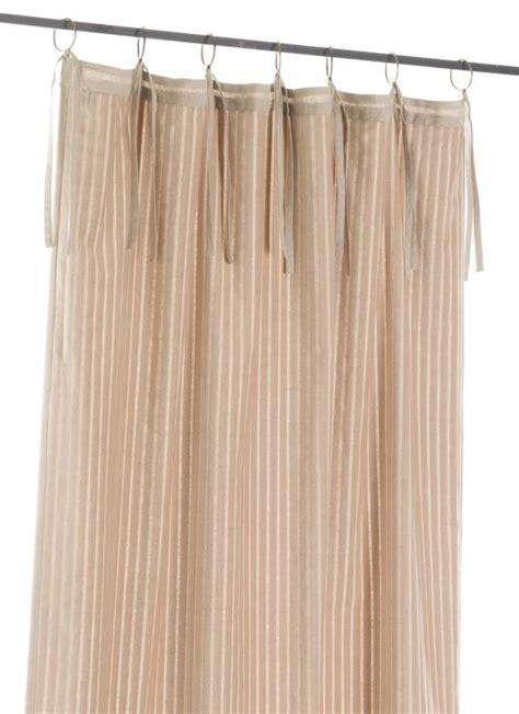 veluti rideau en velours beige en fil d indienne
