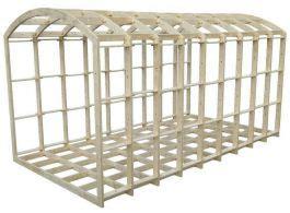 shepherds hut frame kit mm  mm cnc design