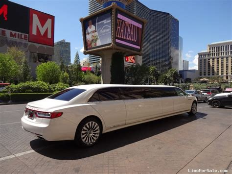 New Lincoln Limo by New 2017 Lincoln Continental Sedan Stretch Limo Specialty