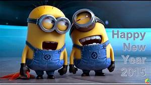 Funny Minions Happy New Year 2015 Animated 3D Wallpapers ...