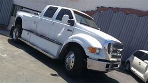 Sell Used 2006 Ford F650 Crew Cab Pickup In San Diego