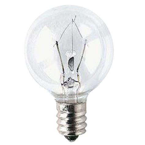 bulbrite 25 watt krypton incandescent g25 light bulb 15