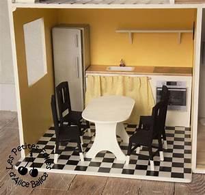 Les Meubles De Maison : maison de barbie 5 les meubles cuisine et salon alice balice couture et diy loisirs ~ Teatrodelosmanantiales.com Idées de Décoration
