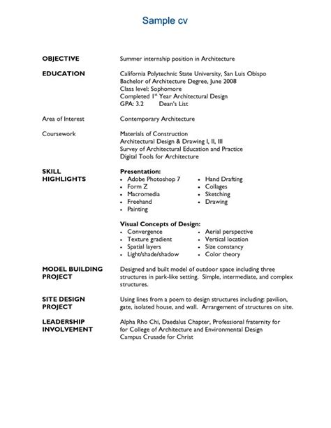 sle resume for freshers architects resume ixiplay