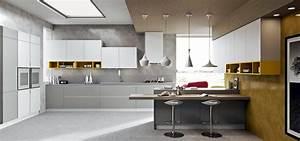 Cucine Moderne Grigie ZD08 ~ Pineglen