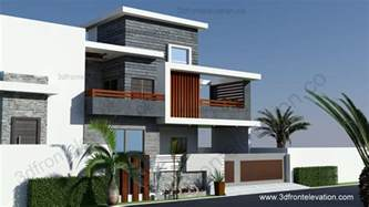 one story home floor plans 3d front elevation 10 marla contemporary house design