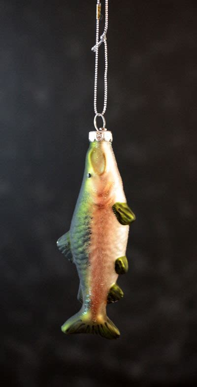 coho salmon ornament the weed patch