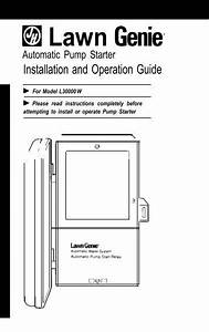 Lawn Genie Richdel L71206p-9p Controller