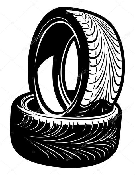 vector tires stock vector  jrmurray