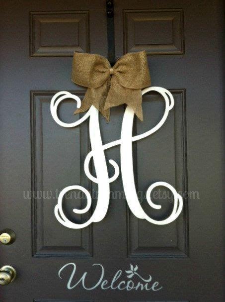 door monograms     front door monogram crafts decoupage seasonal holiday decor