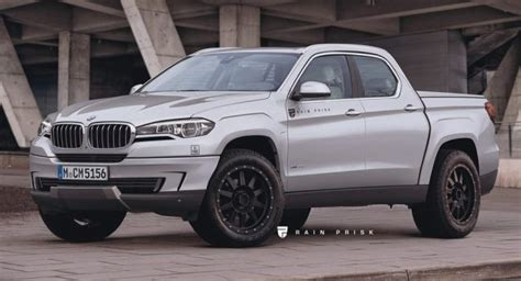 2019 Bmw Pickup Truck Rumored Getting Its Parts From The