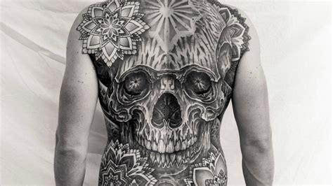 Full Back Piece Tattoo By Thomas Hooper