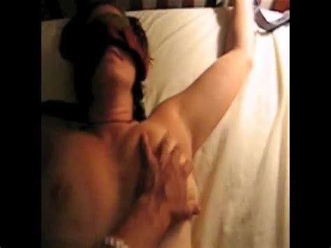 submissive wife tied up fucked and jizzed at