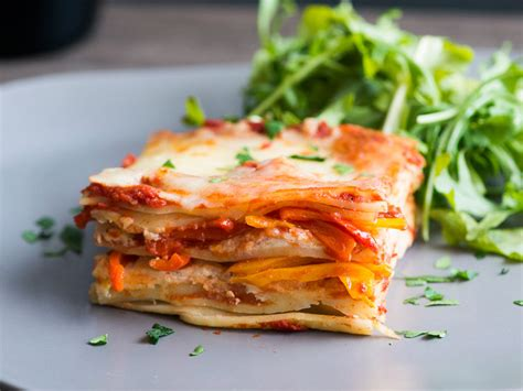 easy sweet pepper lasagna recipe todd porter  diane