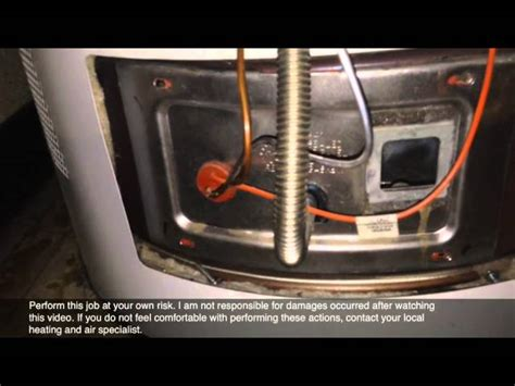how to light a water heater how to light a pilot light on a water heater