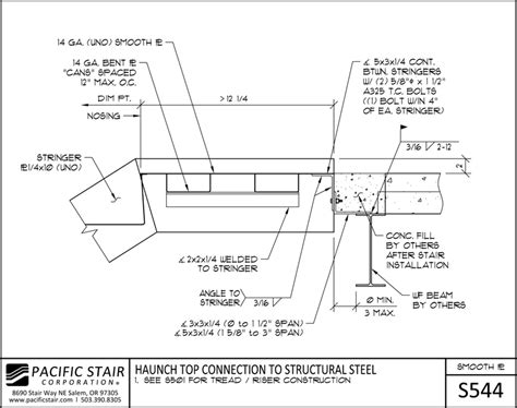 L500 Smooth Plate  Pacific Stair Corporation