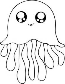 Jellyfish Cute Animal Drawings