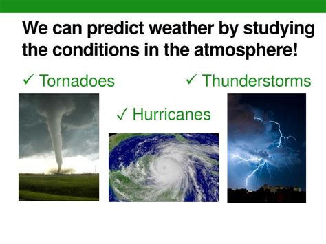 We Predict The Key Looks For: The Four Branches Of Earth Science PowerPoint