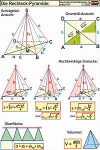Rechteckige Pyramide Berechnen : mkb107 die rechteck pyramide ~ Themetempest.com Abrechnung