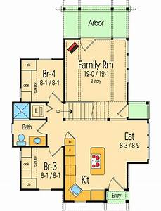 Cottage, With, Library, Loft, -, 26680gg