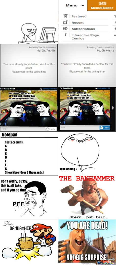 Interactive Memes - interactive rage comics characters cheaters by earthykiller127 meme center