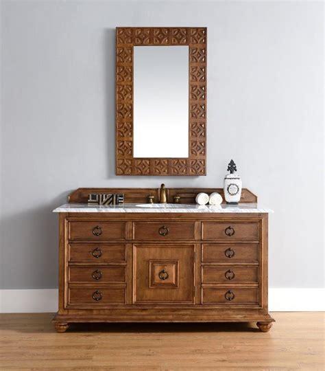 single sink bathroom vanity cinnamon finish