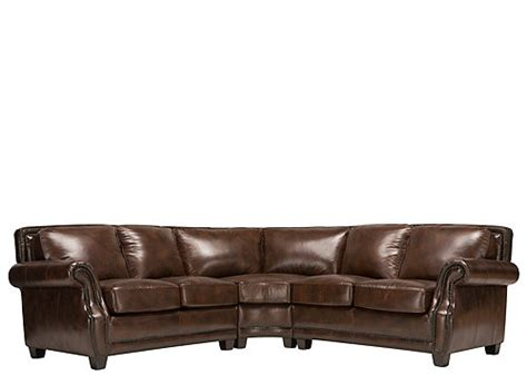 3 pc leather sectional sofa romano 3 pc leather sectional sofa sofas raymour and