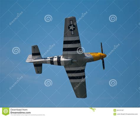 American Ww2 Fighter Plane Editorial Photography. Image Of