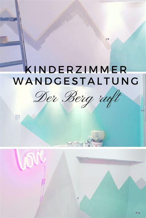 Kinderzimmer Wandgestaltung Berge by 25 Einzigartige Kinderzimmer Streichen Ideen Auf