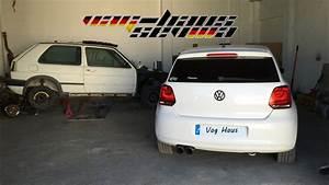 Volkswagen Polo 6r Instalacion Suspension Roscada Ak Street