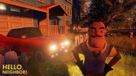 hello neighbor scary pre alpha gameplay