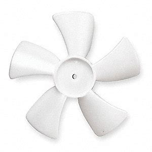 thorgren plastic fan blades thorgren fan blade 5 in 5c166 5c1875c1 grainger