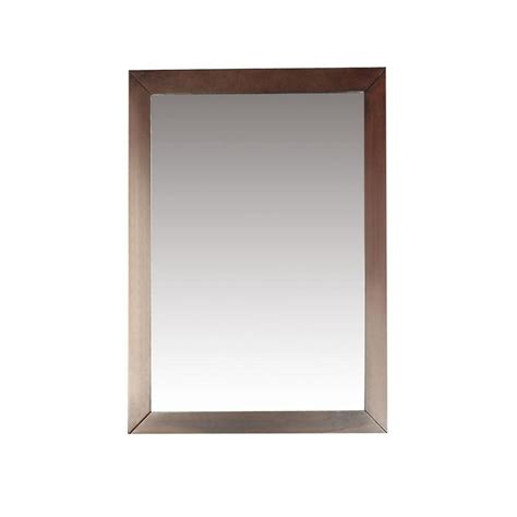 Walnut Bathroom Mirrors by Bathroom Mirrors The Home Depot Canada