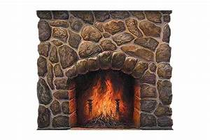 Fireplace, Png, Image