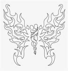 Free Printable Tattoo Stencils Butterfly