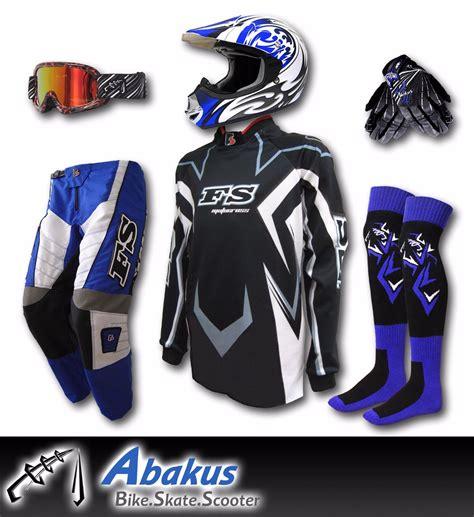 junior motocross gear youth motocross jersey pants gloves helmet as1698 mx dirt
