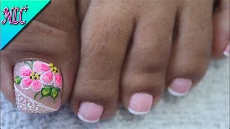 Tiro recortado de mujer descalza recibiendo baño para las uñas flores cerca de velas de aroma en el salón de belleza. DECORACIÓN DE UÑAS PARA PIES FLORES FÁCIL DE HACER - FLOWERS NAIL ART - NLC - YouTube