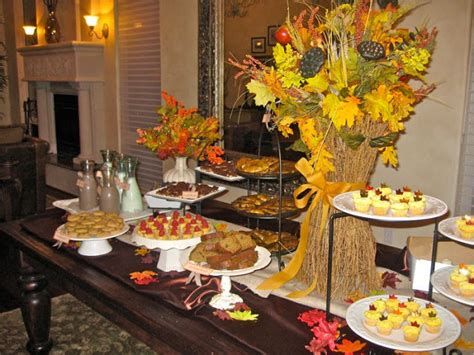 Fall Baby Shower Theme With Dessert Bar!  Design Dazzle