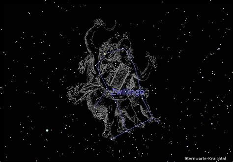 Sternbild Zwilling Mann by Maus Hin Und Weg Bewegen