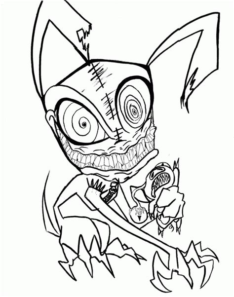 scary coloring pages  coloring pages  kids
