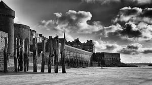 Planisphère Noir Et Blanc : photos en noir et blanc de bretagne bord de mer plages vagues et rochers des c tes bretonnes ~ Melissatoandfro.com Idées de Décoration
